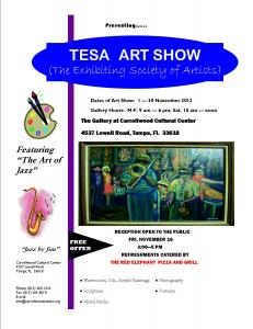 TESA ART Show At Carrollwood Cultural Center